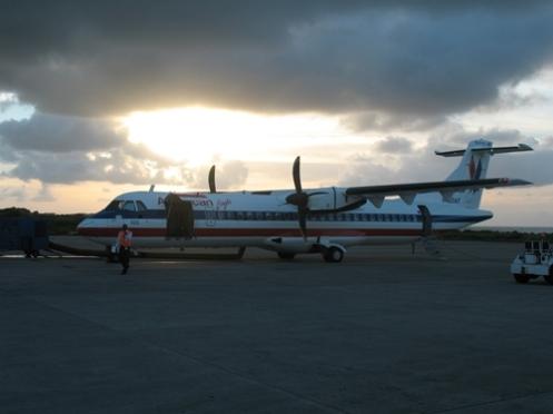 Dawn in Grenada