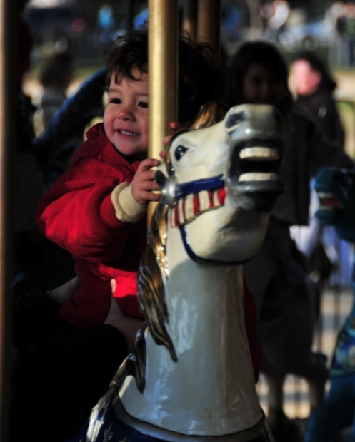 Joy and horsies